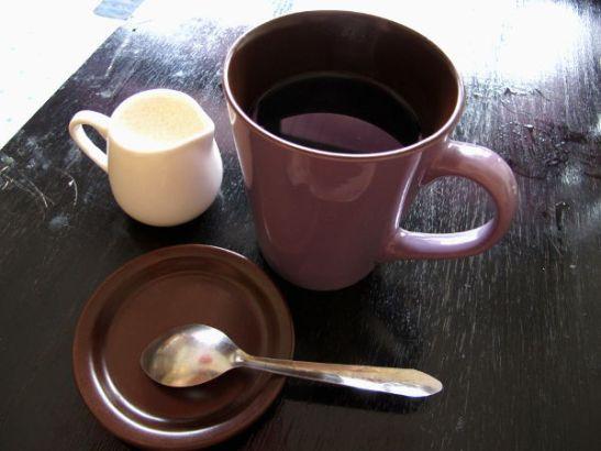 Thaikahvi – en tiedä miten olisi eronnut muusta kahvista.