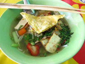 Pattayan Kitchen Jayn oikein hyvä kirkas keitto.