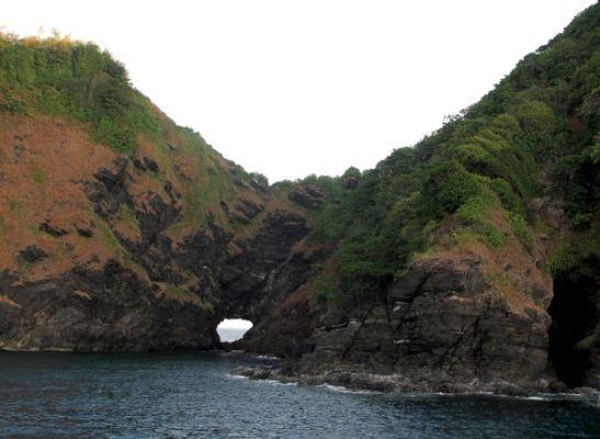 Koh Bonin saaressa oli reikä.