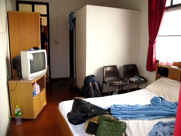 400 bahtin huone.