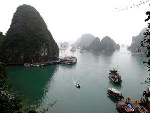 Hang Hung Sotin edustalle näkymä.