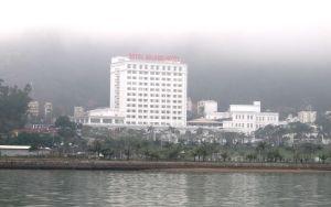 Sataman hotelleja.