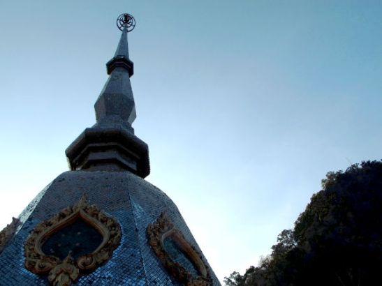 Ta Panin temppelin nuppi.