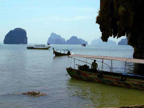 Vene Khao Ping Kanin rannalla.