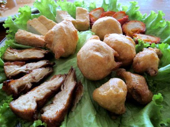 Chew Xin Jain kasvisproteiinilautanen.