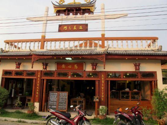 Pain kasvisravintola Chew Xin Jai.