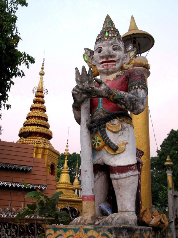Wat Pain keskustassa.