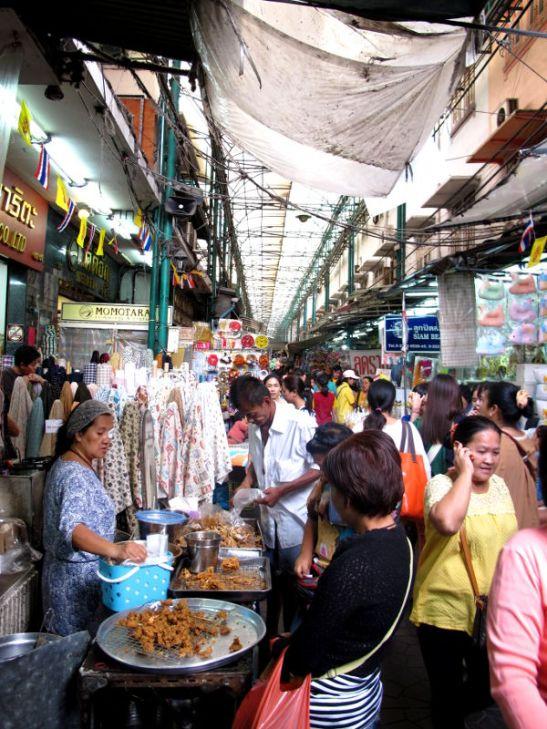 Chinatownin kauppakujia.