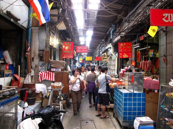 Chinatownin krääsäkujia.