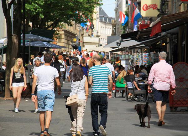 Luxemburgin vanha kaupunki on myös kaupungin keskusta.