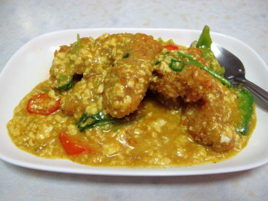Suki Yeh Ru Yin lempiannokseni kasvis crab curry.