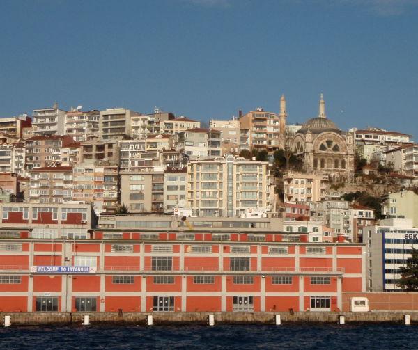 Istanbulin rantaa.