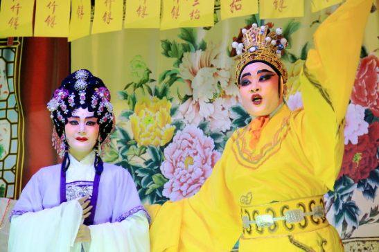 Kiinalaista oopperaa.