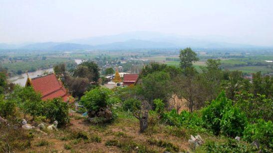 Tämä maisema Tha Thonista Pohjois-Thaimaasta voisi edustaa jonkinlaista ihannekuvaa lannamaisemasta.