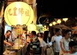 Ruokakojukatu kiinalaisessa kaupungiosassa Talat Noin kortteleissa.
