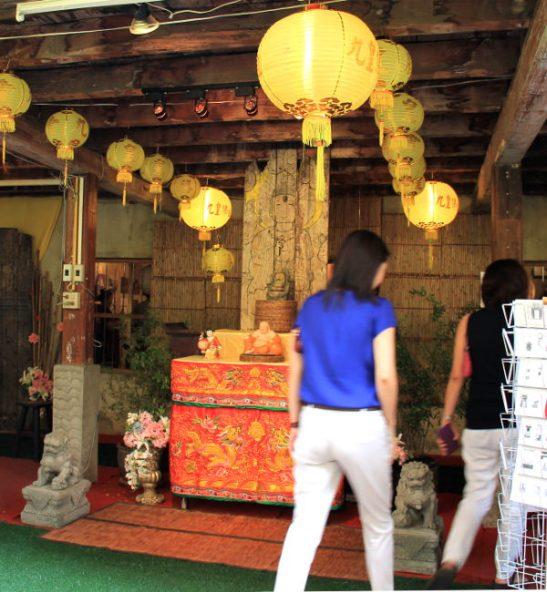 Kujalla oli kiinalaisyhteisön museo, jota en ollut aiemmilla matkoillani huomannut ja kuulemma museo onkin auki vain kasvisfestivaalien aikaan.