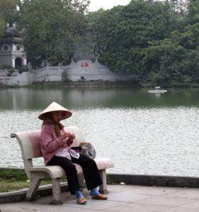 Vietnamin tunnelmia.