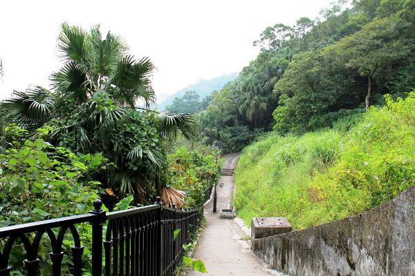 Pieniä polkuja oli paljon, hämmästyttävää kyllä Hongkong on siten kiva patikointikaupunkikin.