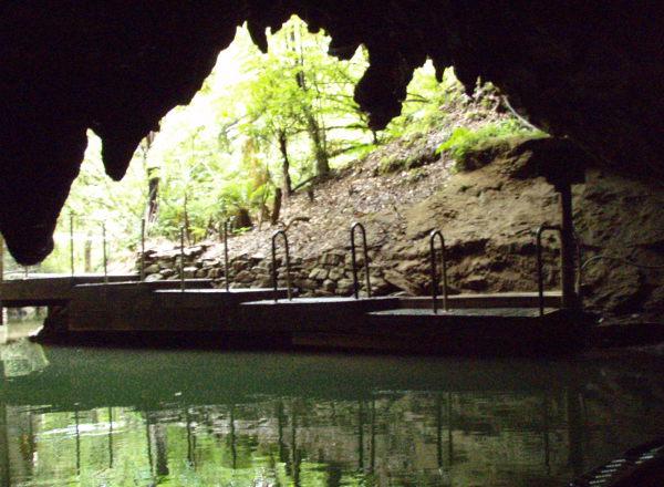 Waitomon luolan loppupää.