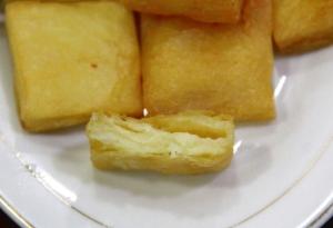 Shan tofua, joka oli ehkä enempikin jonkun leivän ja tofun välimuodon oloista.