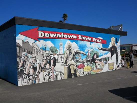 downtown santa cruz