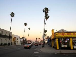 Hollywoodissa useimmat kadut ovat tällä lailla hiljaisia.