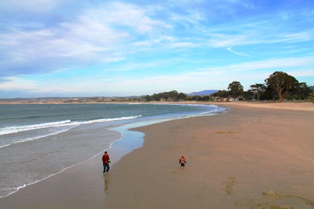 Montereyn ranta.