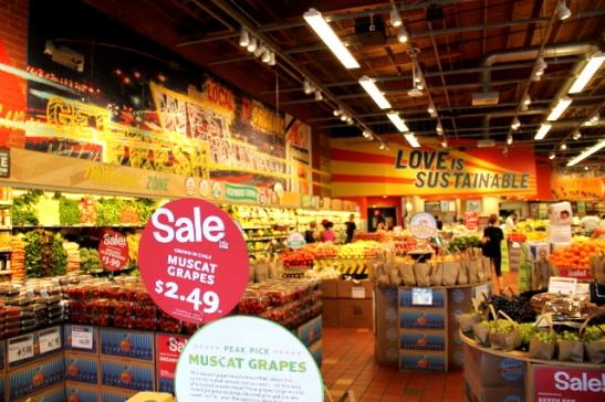 Whole Foodsin supermarketeissa on parhaat ruokavalikoimat.