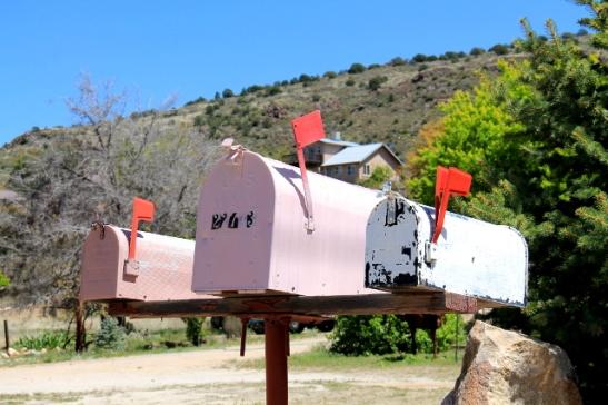 Jenkkilässä postilaatikot ovat todellakin tällaisia akuankkamaisia.