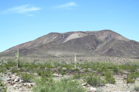 Ensimmäiset Arizonan maisemat Blythen jälkeen.