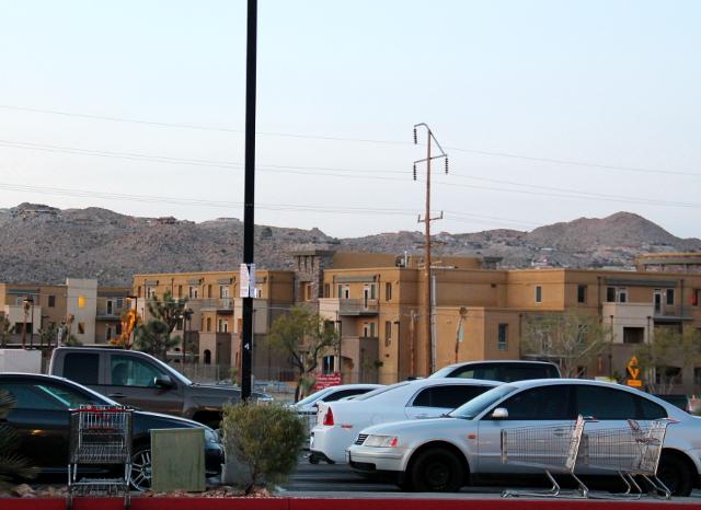 Kylä sijaitsi Mojaven autiomaassa.