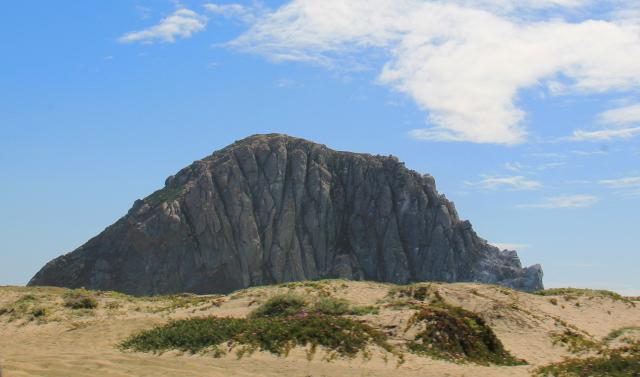 Morro Bayn kallio.