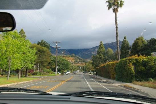 Suunnilleen tämän verran näin Santa Barbaraa, vaikka siellä vietimmekin kaksi yötä.