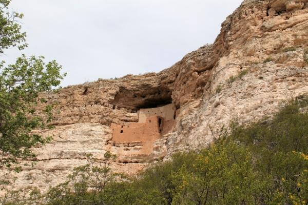Montezuma Castle.