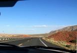 64-tietä matkalla Grand Canyonista kohti Pagea.