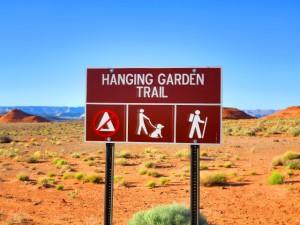 hanging garden trail