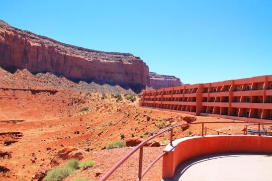 monument valleyn hotelli