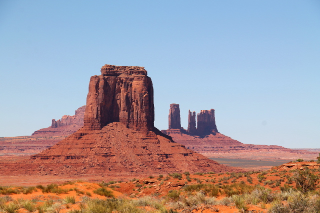 monument valleyn maisemaa