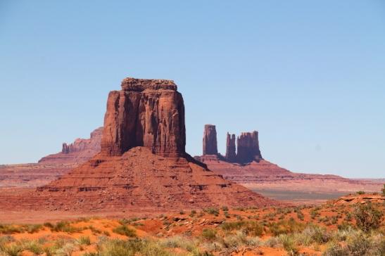 monument valleyn maisemaa