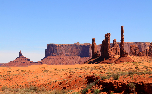 monumentteja monument valleyssa