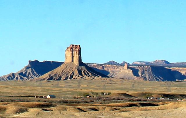 Kallio kuin linna.