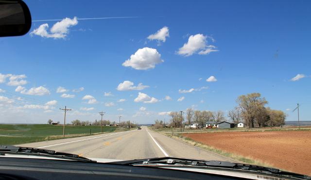 Coloradon ja Utahin rajamailla oli paljon peltoja ja maataloutta. Arizonassa oli yleensä vähän liian kuivaa maastoa pelloille.