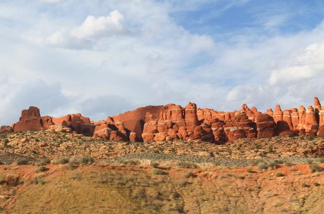 Vähän samannäköisiä kiviä kuin Turkin kappadokiassa.
