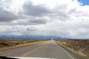 Tie kohti Canyonlandsia.