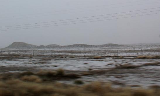 Lunta en ollutkaan tyyliin pariin vuoteen nähnyt enkä ollut olettanut tälläkään matkalla näkeväni.