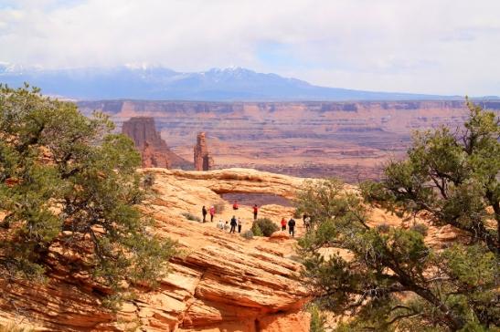 Mesa Archin kaarimuodostelma.
