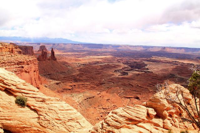 Näköala Mesa Archilta.