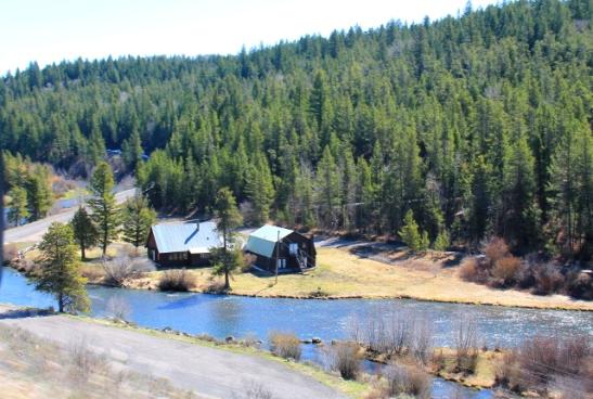 Kovin suomalaisen näköistä maisemaa Idahossa.