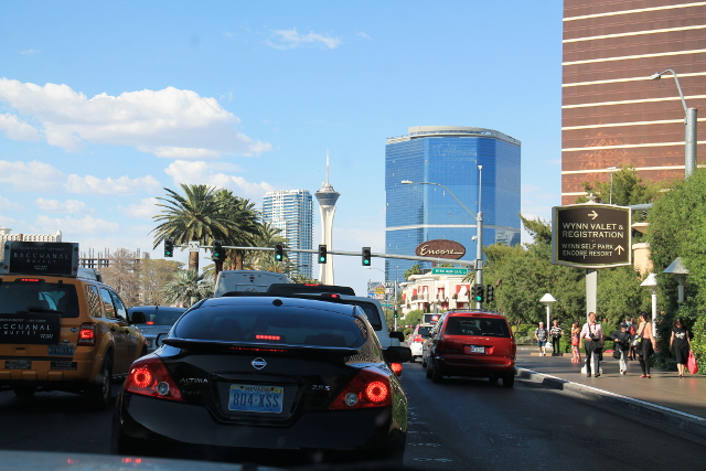 Las Vegas Boulevard.