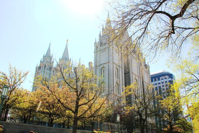 mormonien temppeli